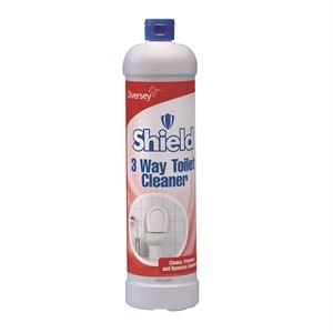 101104257 - Shield 3 Way Toilet Cleaner 12x1L