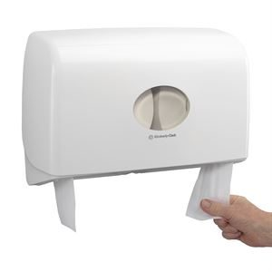 KCP 6947 TWIN JUMBO TOILET TISSUE DISPENSER